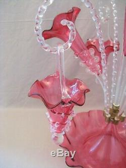 Large Center Table Tulip Murano Glass Late Nineteenth Century Era