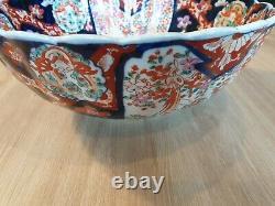 Large Japanese Porcelain Cup Imari / Meiji Period Late XIX Eme