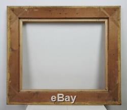 Large Wood Frame And Gilded Stucco Style Italian Nineteenth Time, Mounted Keys 1/2