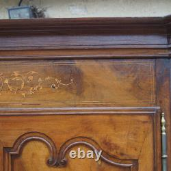 Louis XV Executive Cabinet 19th Century In Solid Walnut, Raptor