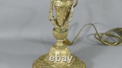 Louis XVI Style Lamp In Bronze Doré Era Xixth