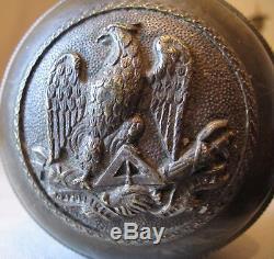 Major Drum Cane Freemasonry 19th Century