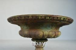 Medici Vase In Iron Cast Iron Era 19th