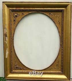 N ° 245 Frame Xixth Century Gilded For Frame 62 X 51 CM