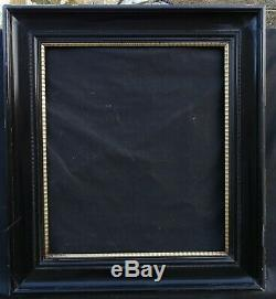 N ° 593 Large Frame In Lacquered Wood For Frame 81 X 70,8 CM Period 19th Century