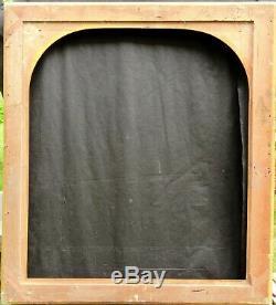 N ° 651 Framework XIX Wood And Stucco Era Golden Frame For 95 X 83 CM