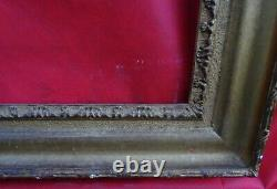 N° 754 Frame Epoque Xixth Wood And Gilded Stucco For Chassis 100.8 X 83.4 CM