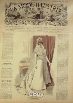 Newspapers Mode-1899-d'époque Without Bosses 51 X Fashion Illustrated