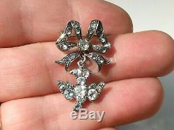 Nice Old Pin To Middle Nineteenth Time With Silver Bird Holy Spirit