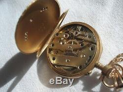 Nice Watch Neck Or 18 Carat Diamond Time XIX