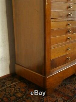 Notary Furniture Or Médailler Time XIX