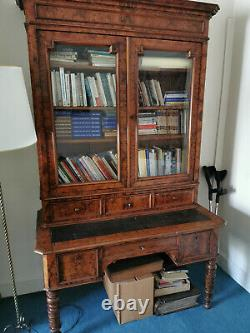 Office Period Library In Solid Wood Late 19th Century