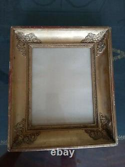 Old Frame To Applications. Epoque Restoration 19th Century