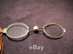 Old Spectacles Lorgnette Vermeil Era Nineteenth Century