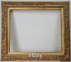 Old Wood Frame And Stucco Gilded Xixth Italian Style, Mounted Keys 2/2