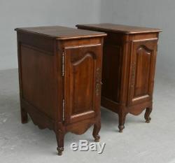 Pair Of Bedside Louis XV Style Walnut Xixth