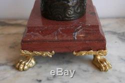 Pair Of Candelabrum In Bronze Nineteenth Time
