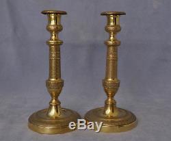 Pair Of Candlesticks Candlesticks Candlesticks Period 1st Empire Nineteenth