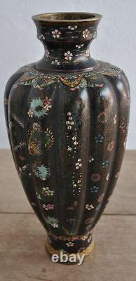 Pair Of Chinese Vase Cloisoned Era Xixth