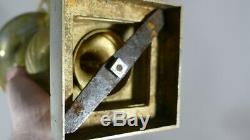 Pair Of Empire Gilt Bronze Cassolettes, Shape Medici Era Early Nineteenth
