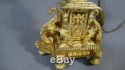 Pair Of Louis XVI Gilt Bronze Lamps, Chandeliers, Time XIX