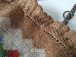 Pearl Crosshair Minaudière Purse Handbag 19th 15185