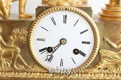Pendule To Love Pulling At The 19th Epoque
