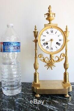 Pendulum Of Epoque Nineteenth Gauthier Dial