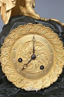 Pendulum Of Restoration Period Nineteenth Decor From Mercury