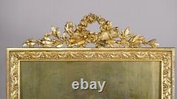 Photo Door Frame Louis XVI In Golden Bronze, Era Xixth
