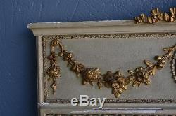 Pier Louis XVI Style Nineteenth Gilt Stucco Lacquered Boistet