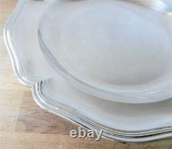 Plate In Solid Silver Minerve Punch, Era Xixth. 32.8 Cm. / 867 Gr