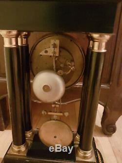 Portic Pendulum With Its Base Element Xixth Napoleon III