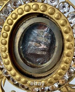 Reliquary-ostensoir Monstrance Strass & Emal Church & Liturgy Age 19th