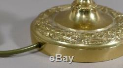 Restoration Time Lamp In Golden Bronze Chiseled, Start XIX