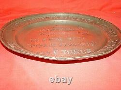 Reward Plate In Tin Era Xixth