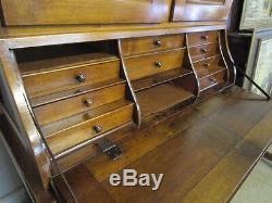 Scriban Furniture 3 Body Epoque Xixth Walnut Massive Presbytere