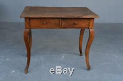 Small Desk In Walnut Louis XV Xixth