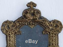 Stamped Brass Photo Frame Decor Aux Anges, Time XIX