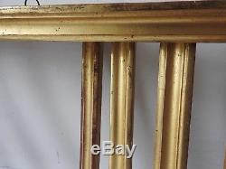 Superb Series Of 4 Golden Frames Empire Period, Drawing Sticks, Early Nineteenth