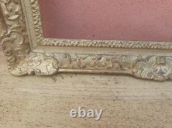 The Framework Berain Style Louis XIV Wood And Stucco Doré Gold Era XIX