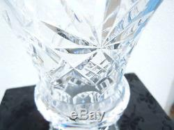 Vase Cut Crystal Vintage Late Nineteenth Baccarat St Louis