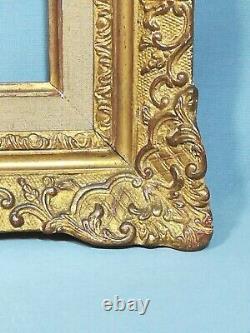 Very Beautiful Frame In Golden Stuc Style Montparnasse Louis XV Period Xixème