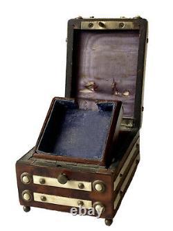 Wood Watch Holder Box Napoleon III Placing Age XIX Antique Watch Holder