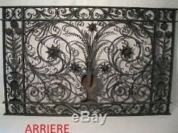Wrought Iron Indoor Grid Nineteenth Century Master's Work