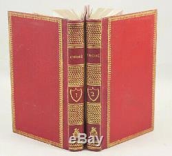 ARLINCOURT, Ipsiboé, 1823, demi-maroquin rouge de l'époque