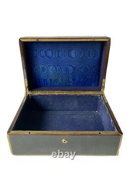AUCOC Aîné à Paris Coffret & Voyage Couronne Comtale Époque XIX ème Antique Box