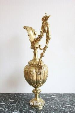Aiguière En Bronze Epoque XIXème