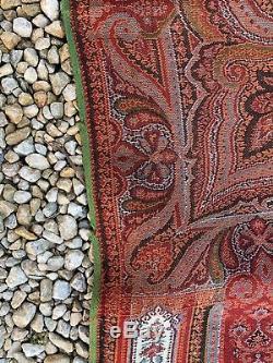 Ancien Chle En Cachemire Époque Napoleon III / Xixeme 310 X150 CM