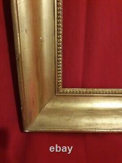 Ancien cadre doré époque XIX ème s, grand modèle, belle dorure